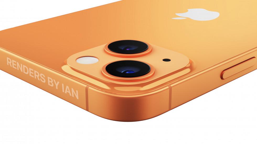 Таким будет iPhone 13 в золотой расцветке