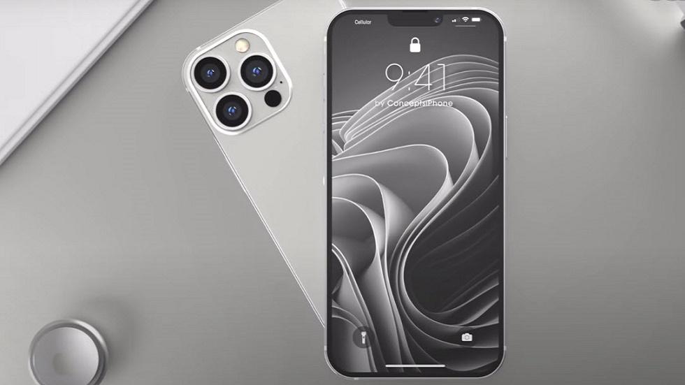 iPhone 13 Pro показали на видео — Touch ID и маленькая челка