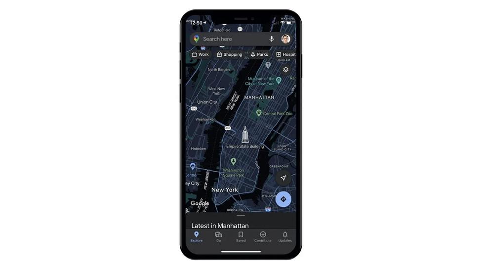 Google Maps и темная тема на iPhone совсем скоро — наконец-то