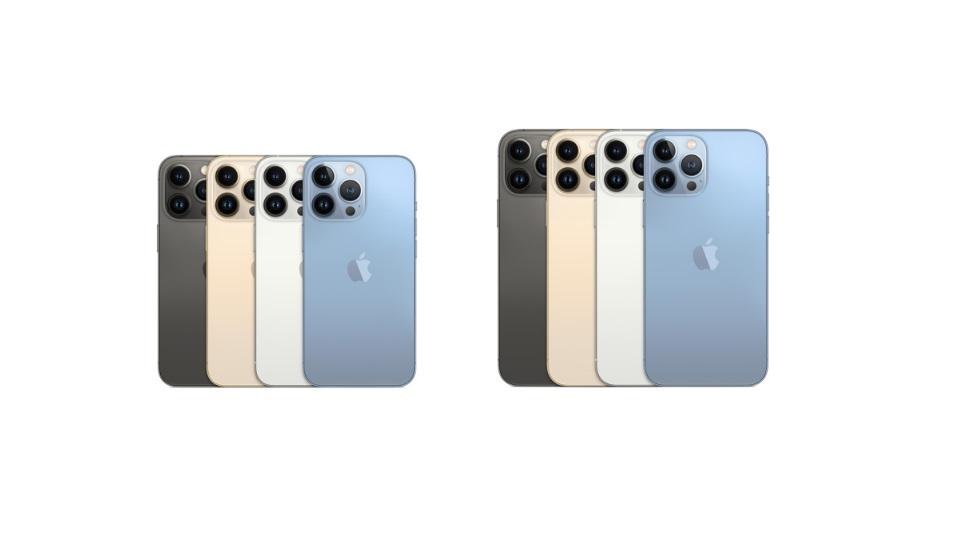 У iPhone 13 Pro и iPhone 13 Pro Max полностью идентичные камеры — смартфоны отличаются только размерами