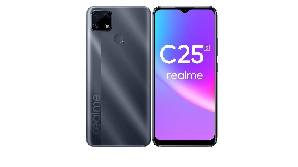 Realme C25s уже в России — достойный смартфон за 15 тысяч рублей