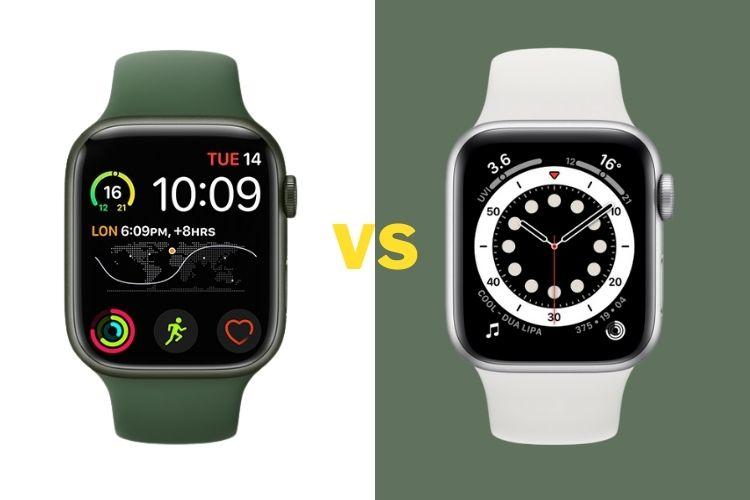 Толщина Apple Watch Series 6 и Series 7 полностью одинаковая