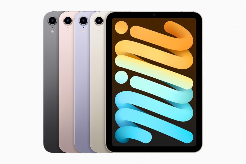 Pad mini доступен в четырёх новых цветах: розовый, сияющая звезда, фиолетовый и серый космос