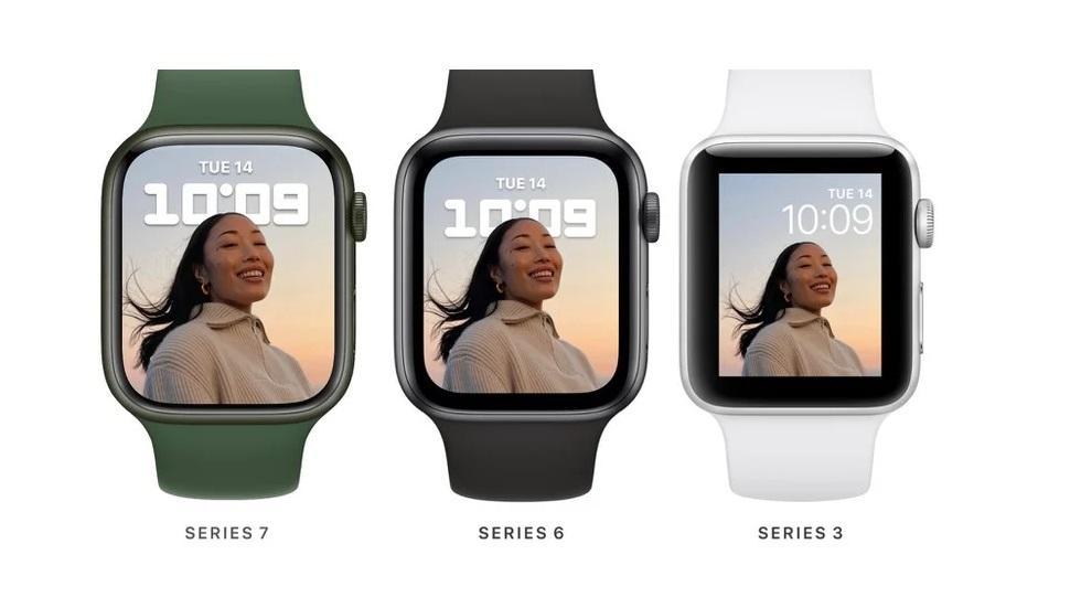 Apple Watch Series 7 совместимы с ремешками от Series 1–6 — ну да, часы то прежние