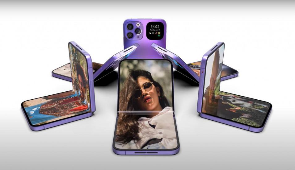 iPhone Fold с гибким дисплеем представят в 2023 году