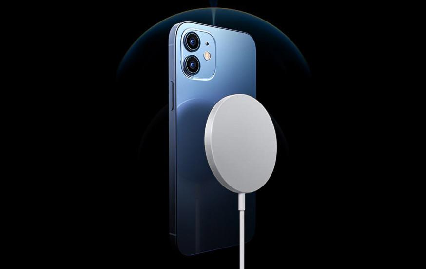 Никакой реверсивной зарядки у серии iPhone 13 нет, скорость магнитной зарядки прежняя