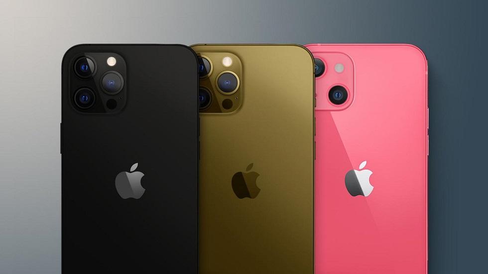 Все цвета и конфигурации накопителя iPhone 13 и iPhone 13 Pro