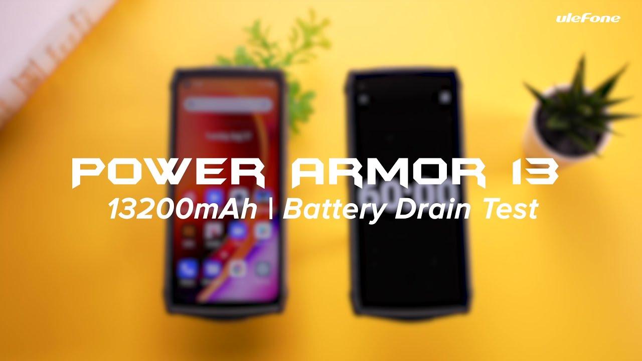Ulefone Power Armor 13 изумителен — наглядная демонстрация, зачем нужна батарея на 13 200 мА*ч