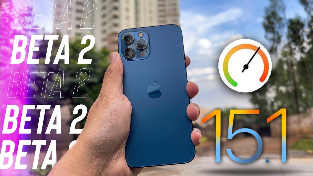 Вышла iOS 15.1 beta 2 — что нового