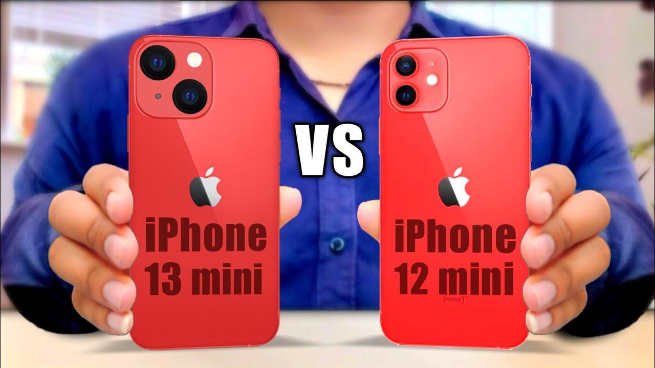 iPhone 13 mini против iPhone 12 mini — смысл менять есть
