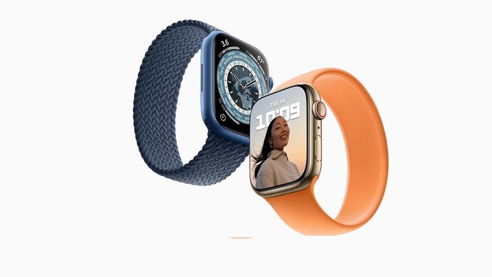 Цена Apple Watch Series 7 в России — от 37 000 рублей