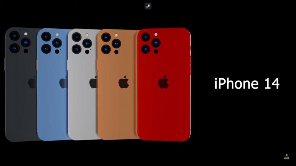 Изумительные рендеры iPhone 14 Pro