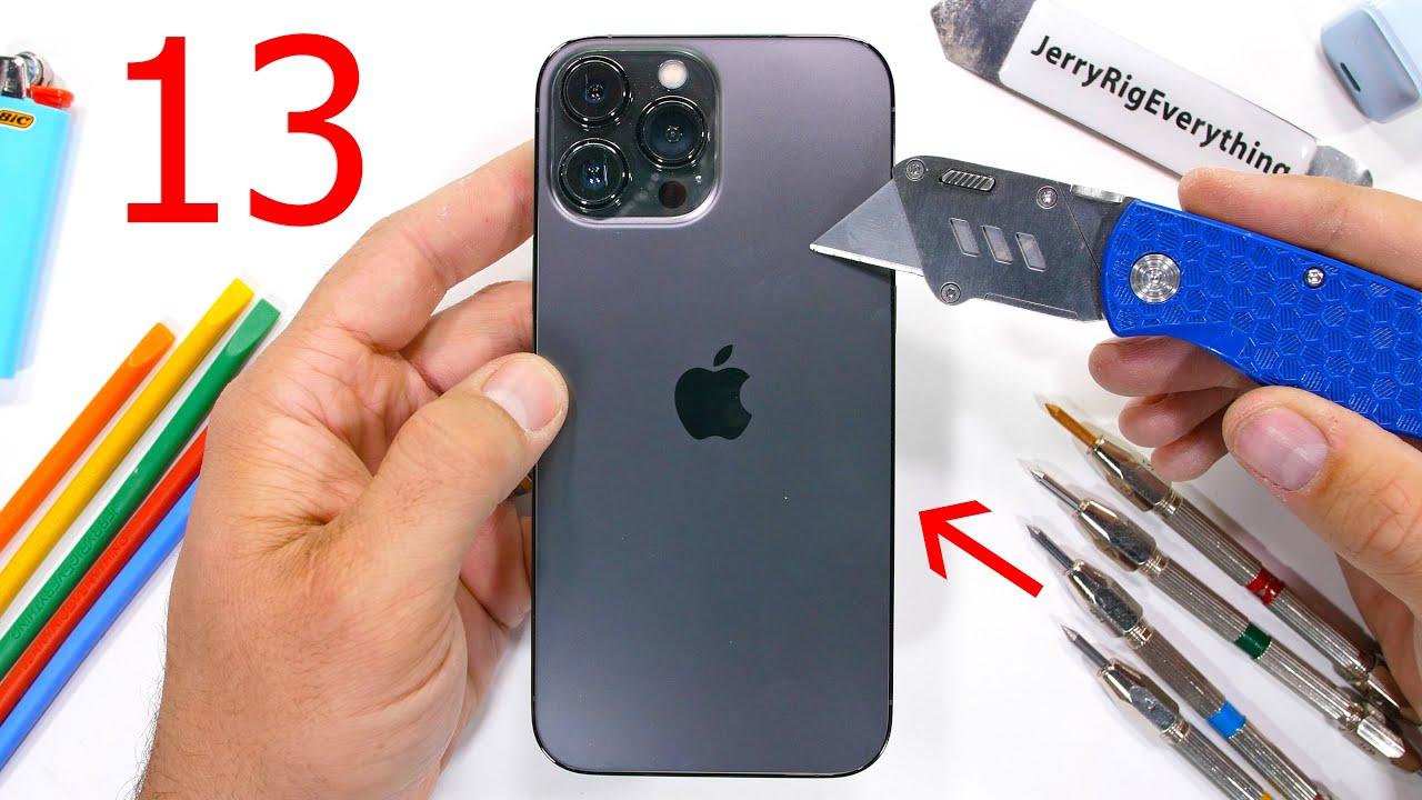 Разборка iPhone 13 Pro Max на видео — что внутри